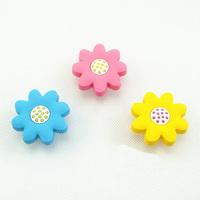 Non-toxic eco Soft Rubber Cartoon knob Cabinet Wardrobe Drawer Pull Handle knob for Children baby Room Sun Flower knobs