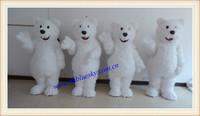hot polar bear mascot costume polar bear costume for adults