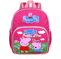 Peppa pig School bag Girl and Boy Backpack peppa mochila infantil Backpack for Kids schoolbag Cartoon Rucksacks