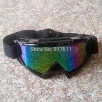 Color lenses Ski riding motorcycle Protective equipment oculos motocross goggles Windproof glasses oculos feminino de sol
