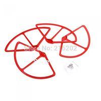 4Pcs Propeller Prop Protective Guard Bumper Protector for DJI Phantom 1 2 Vision Quadcopter Red