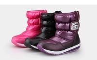 Girls boots cheap winter shoes  children cotton boots boys winter boots 2014 size 26-37 winter boots for teenage girls