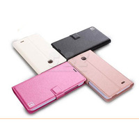 Support wallet leather Stand case pouch for Huawei Ascend G616 a