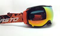 2014 new Unisex Ski Goggles Skiing Eyewear Double Lens Anti-Fog Big Spherical Professional Ski Glasses Multicolor Snow Goggles