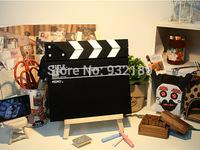 FREE SHIPPING Director board small wooden blackboard message board