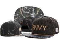 2014 new bone with envy letter fashion black baseball snapback caps and hats for men-women sports hip pop sun cap gorras cheap