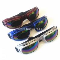 fold Ski riding goggles motorcycle Protective equipment oculos motocross goggles Windproof glasses oculos feminino de sol