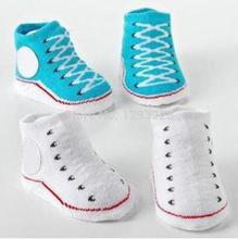 Envío libre verdadero del niño del bebé cubierta antideslizante Prewalker botas calcetín zapatos del pesebre ynRqG(China (Mainland))