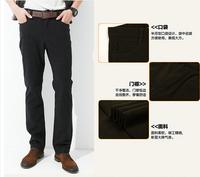 2014 Fashion Autumn And Winter British Style Men Pants Classic Warm Casual Pants Men Large Size Business Trousers Men