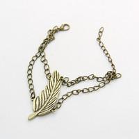 Vintage Leaf Bracelet bracelets & bangles CB060 coupon