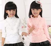 Fashion Autumn baby Girl Children's Floral Long Sleeve T shirt , New kids girls T shirt ,Children's Tops clothes