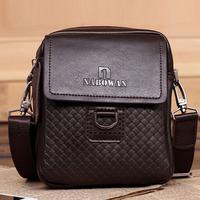Promotion!! New Arrival Genuine Leather Men Messenger Bags Man Shoulder Bag Vintage Men Handbags IPAD Bags Black Brown Wholesale