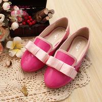 new 2014 fashion autumn girl flats shoes female ballet children shoes