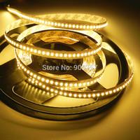 free shipping 5M Super bright 3014 SMD 1020 LED Flex Strip Light Lamp 12V 204leds/M Warm White