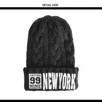 new 2014 brand  new york knitted winter hats knitting balaclava skullies and beanies women beanie for girls touca bonnet