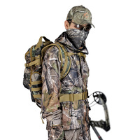 Remington bionic camouflage hunting clothes suit anti- mosquito fish sunscreen breathable outdoor camouflage clothing Geely