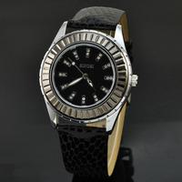 2014 Brand New With Tags Sinobi Women Watch Fashion Ladies Rhinestone Wristwatch Snake Leather Strap Quartz Watches Reloj Mujer