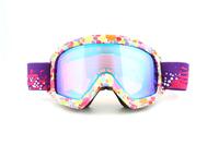 2014 new brand Ski Goggle Double Lens Anti Fog UV Big Spherical Professional Snow Goggle Unisex Multicolor Ski Glasses