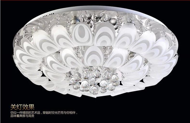 Europe-style-bedroom-flush-mounted-led-ceiling-lights-crystal ...