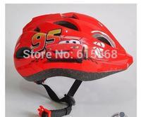 Boodun child ride helmet pulley skateboard mountain bike bicycle helmet red color cycling children helmet h6