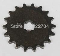 Hole 420-18 gear for motorcycle beach sports car 4WD modified small sprocket engine flywheel gear