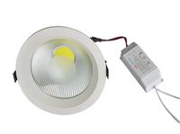 DHL free shopping 6pcs/lot 3W 5W 7W 9W 12W 15W led downlights COB 15W down light COB LED Spot light lamp
