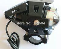 CREE Led Universal Motorcycle lamp Motorbike headlight Spotlights 12-80v 30W IP68 Motor driving day fog flash light with Bracket