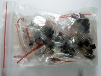 Free shipping TO-92 transistor package total 10 kinds of each component package 10 separate packaging 100