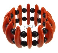 Free shipping!!!Fashion Turquoise Bracelets,2013 womens european fashion, with Elastic Thread, 6.5x39x11mm, 8mm