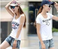 Fashion Woman Middle waist short Jeans pant