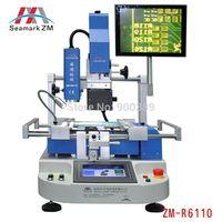 ZHUOMAO Optical Alignmnet model ZM-R6110 BGA rework station   BGA chip repair machine for motherboards