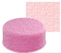 hot selling silicone mold cake tools !Big chrysanthemum Flower embossing pad sugar printing pad kicten tool  01051