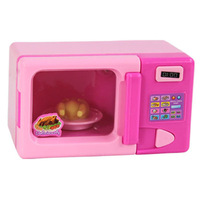 Children House Playsets simulation mini appliance series - Mini microwave oven