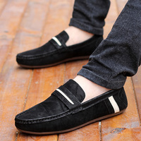 Free Shipping 2014 Male Casual Canvas Shoes Breathable Male Moccasins Low Summer Shoes Drive Shoes