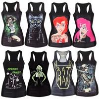 2015 Free shipping men /women t shirt mens o-neck Fashion vest 3d cotton t shirt ,3D printed t-shirts for man 21mode Halloween