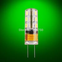 Free shipping High Power 10pcs/lot G4 LED Bulb Lamp 1.5W 3W SMD3014 24 LED Light Bulb Whie / Warm White ADC 12V LED Lighting