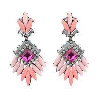 Wholesale Jewelry Fashion Rhinestone Statement Earrings Designer Women Brand Brincos Party Date 7447