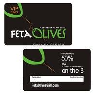 Free shipping high quality transparent inkjet pvc card