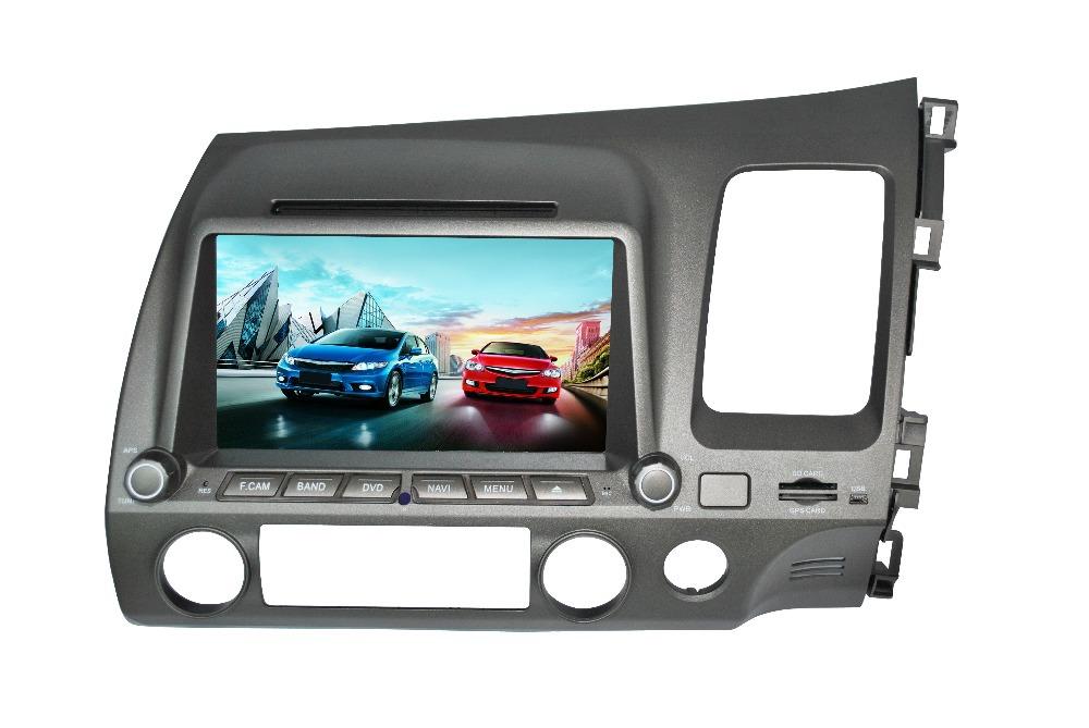 CAR DVD GPS FOR HONDA CIVIC(Right hand) 2008-2010 with IPOD+Radio+RDS+BT+DVD+GPS Navigation+TV+USB/SD+Steering Wheel Control(China (Mainland))