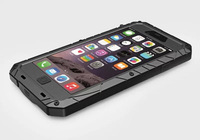 """Energy armor waterproof shockproof design aviation aluminum alloy metal case for iphone 6 4.7"""" +Gorilla Glass Retail Packaging"""
