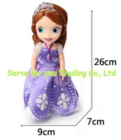 Without Original Box Princess12 Inch sofia doll the First Princess Sofia Doll For Girl Christmas Gift free shipping