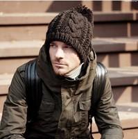 2014 Winter fashion caps men's woolen beret casual cap hats  unisex hats wholesale and retail
