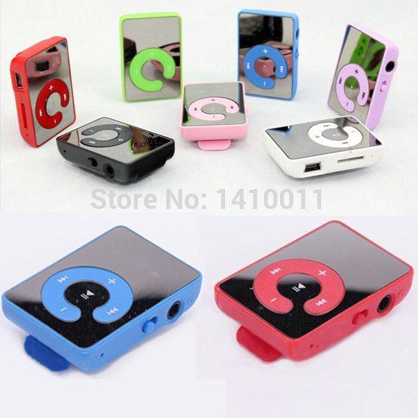 Chrismas Gift 10pcs/lot Digital Clip MP3 Sport MP3 Player MP 3 Player + Retail Box + USB Cable + Earphone Free Shipping(China (Mainland))