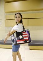 NEW  VINTAGE PRINT BIG BAG FASHION WOMEN HANDBAG PARENT SHOULDER BAG CARTOON HANDBAG