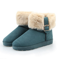 2014 new arriving winter boot ladies shoes sexy ladies boots with buckle women black/coffee/blue/khaki/color boot 5C