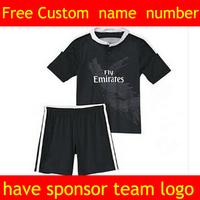 Black Dragon! 3D black Real Madrid home white kids from pink football kits. james best, ronaldo, Bale, Ramos children gift