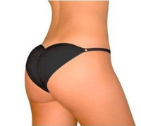 Sexy enhanced Buttocks Push Up Seamless Women Panties 2PCS/LOT black&white color
