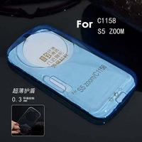 Thin soft TPU Silicone Jelly Candy Back case cover for Samsung Galaxy K Zoom ( C1116 ) Free Shipping