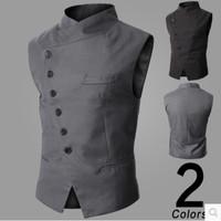 2014 New Arrival! Men Suit Vest Slim Dress Vests Men's Fitted Leisure Waistcoat Casual Business Jacket Tops 2color