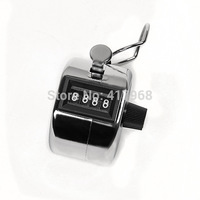 ABS Hand held Tally Counter 4 Digit Counter Buddha Numbers Clicker Golf Good quality Low Price Wholesale (counters)